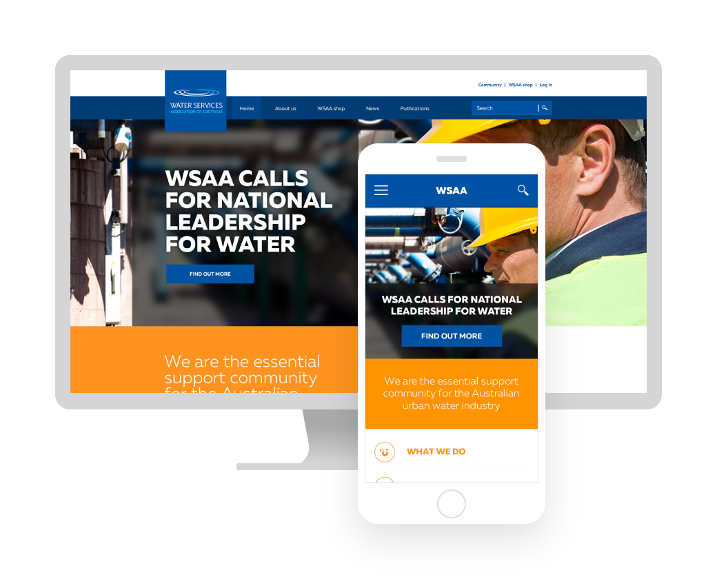 Water Services Association of Australia Website
